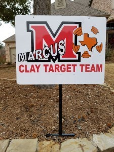 Metal Yard Sign w/ MCTT Logo  only