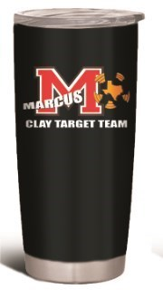 20 oz. Insulated Cup w/ MCTT Logo & Personalized
