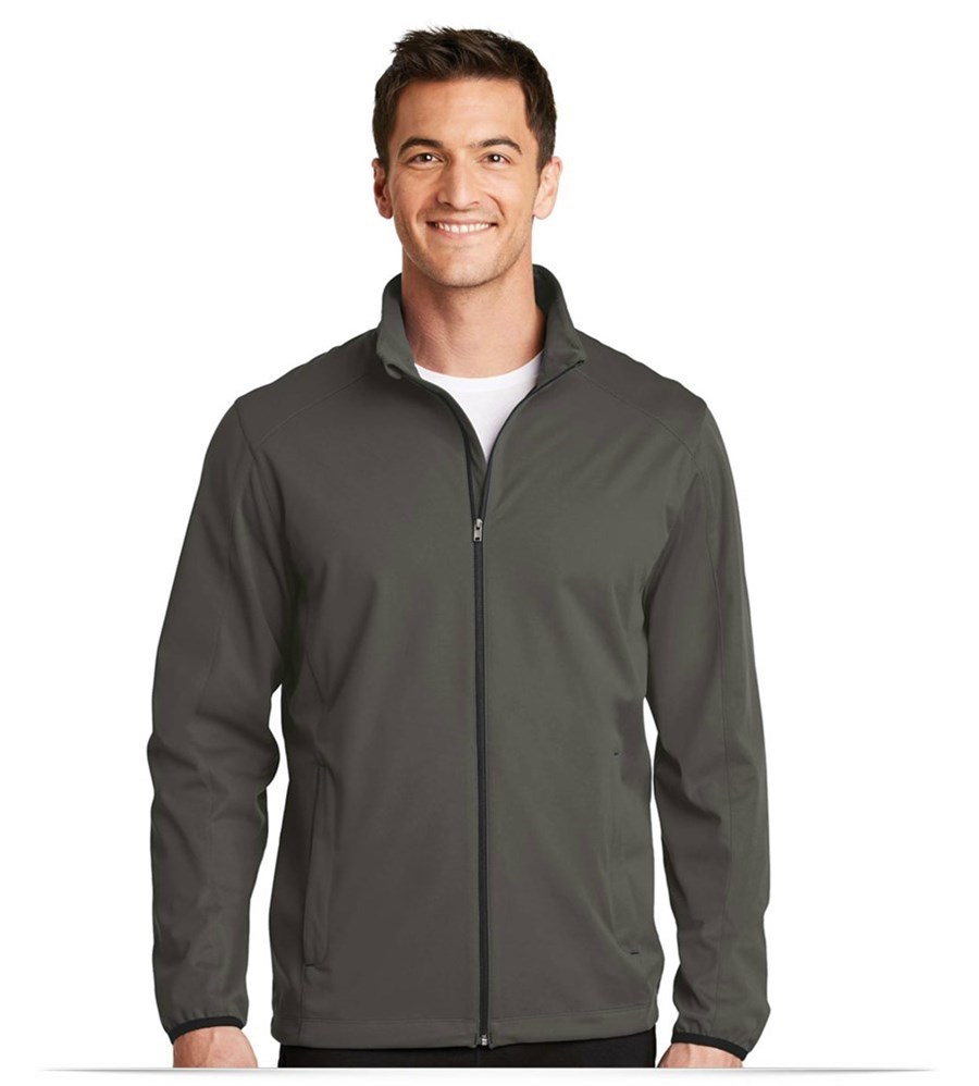 BLACK Soft Shell Jacket w/ MCTT Logo & Personalized - Mens