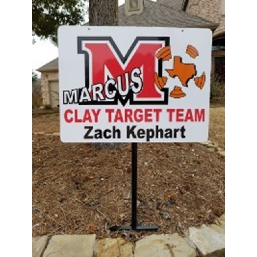 Metal Yard Sign -  Personalized
